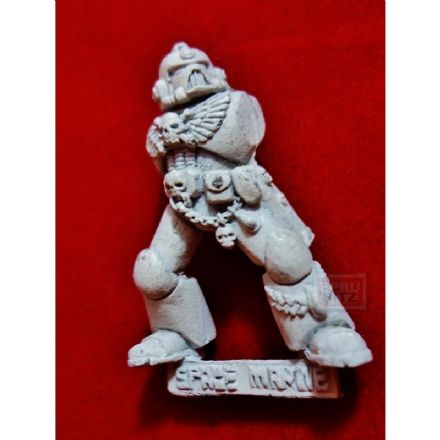 Blood Angel Death Company torso (metal) white undercoat A